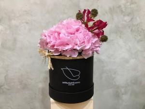 Cutie cu Hortensii roz