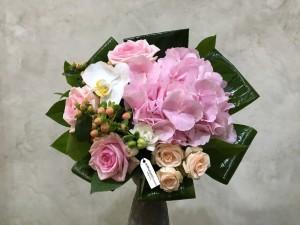 Buchet de flori pastel