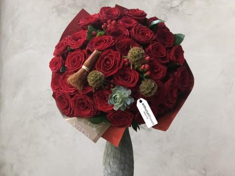 Buchet 31 Trandafiri rosii