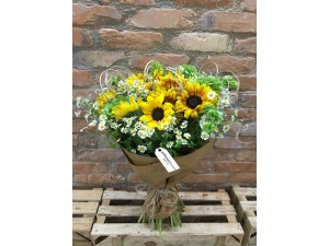 Buchet de flori cu Floarea Soarelui