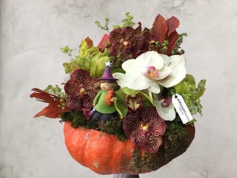 Aranjament floral Serbarea Toamnei