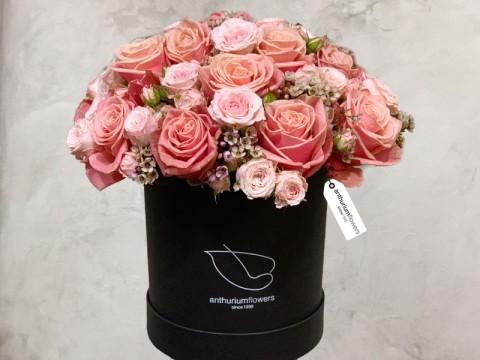 Cutie cu Trandafiri si Minirosa