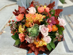 Buchet Autumn Rocks