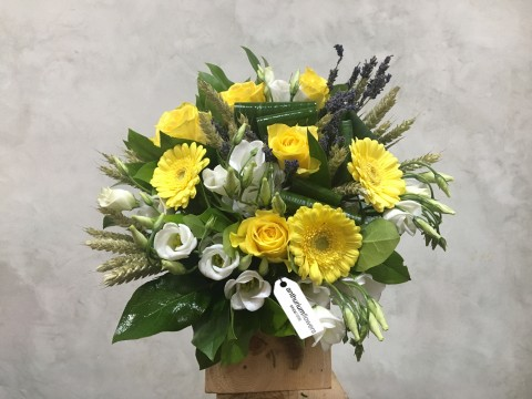 Buchet de flori White & Yellow
