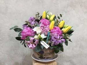 Aranjament floral Parfum de Primavara