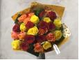 Buchet de trandafiri Rubies and Sunshine