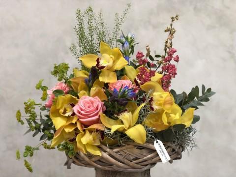 Aranjament floral Golden Times