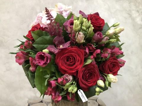 Buchet de flori Red Romance
